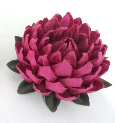 DIY easy to make origami lotus flower (paper folding) // Origami lótusz - kreatív tavaszi dekoráció papírhajtogatással // Mindy - craft tutorial collection