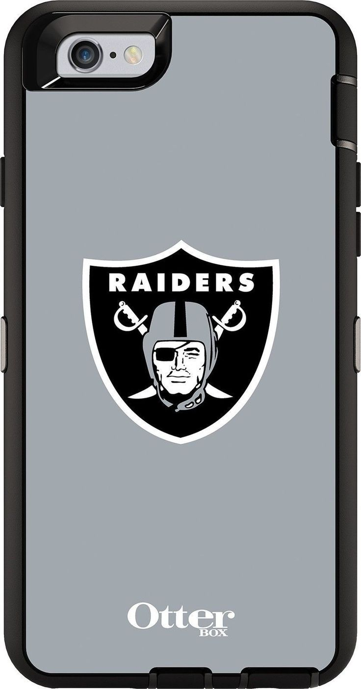 OtterBox DEFENDER iPhone 6/6s Case - Retail Packaging - NFL RAIDERS OtterBox