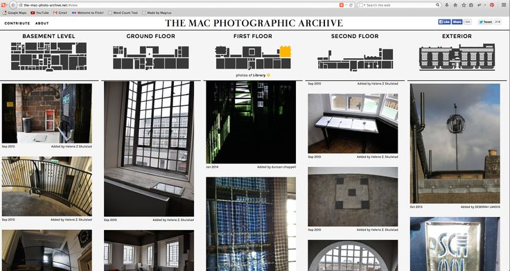 Memorial website for Charles Rennie Mackintosh building.