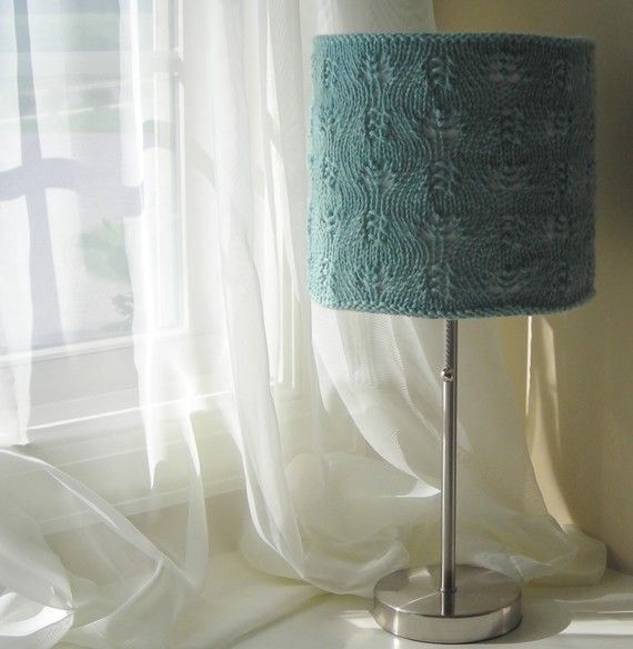 12 best Knitted lights images on Pinterest | Lampshades, DIY and ...