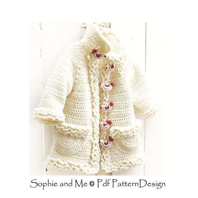 Mejores 248 imágenes de Girl\'s crochet en Pinterest   Ravelry ...