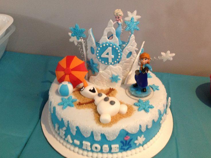 Frozen Cake/ la Reine des Neiges