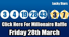 Here are the Euromillions results for Friday 28th March with a run down on the prizes available, read more here: http://euromillionshub.com/euromillions-results-28th-march/ #lottery #euromillions