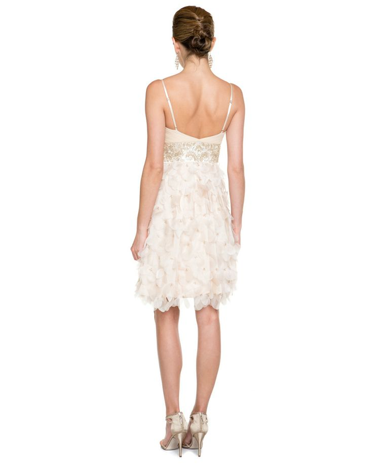 Sue Wong Champagne Embellished Dress 149.90