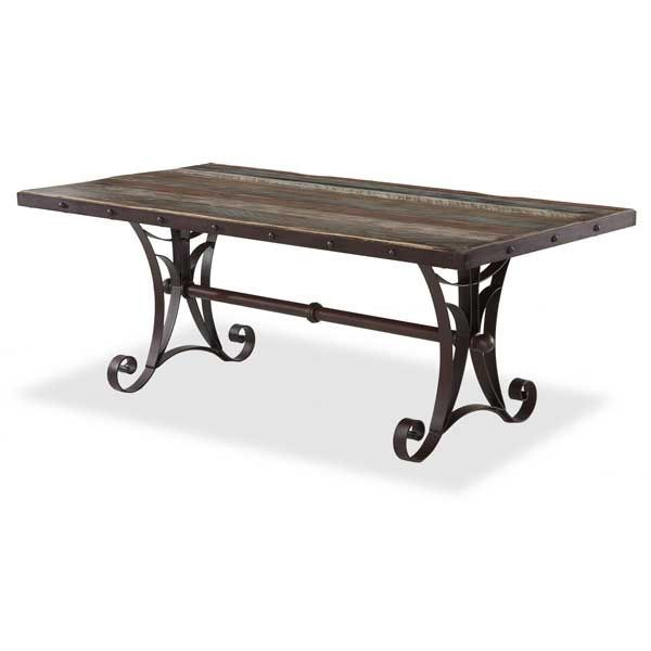 antique rectangle dining table by artisan home by ifd is now available at american furniture warehouse