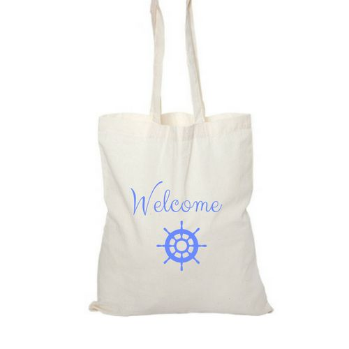 Wedding Welcome bag - Personalized - Set Sail
