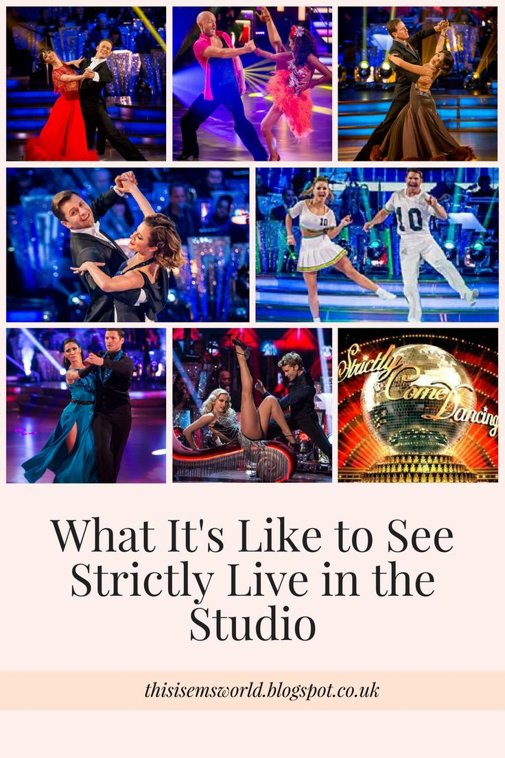 Ever wondered what it's like to see Strictly Come Dancing LIVE in the studio? Well now you can read all about it!