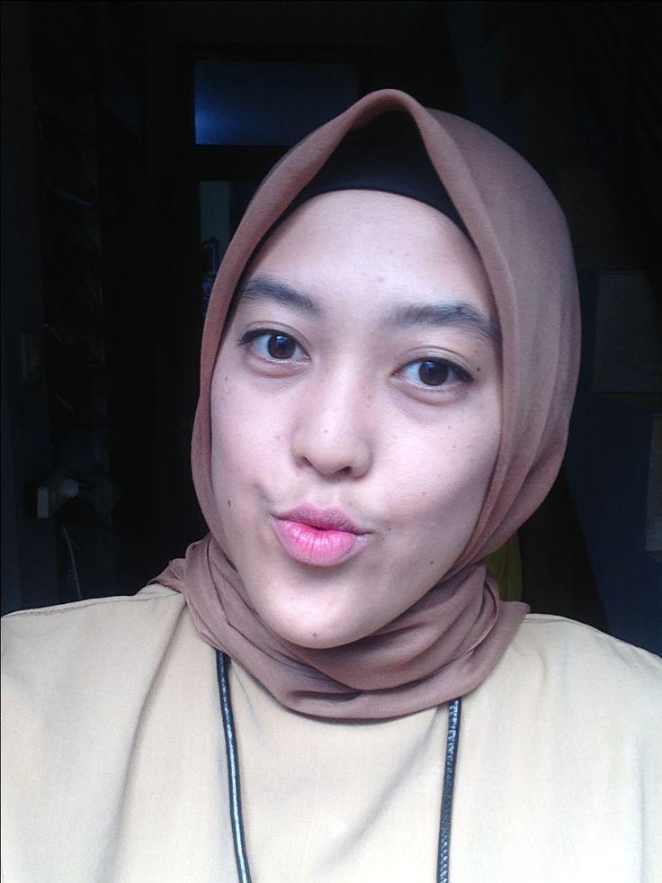 korean lips style #makeup #lipstick #hijab