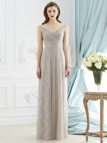The bride can wear this bridesmaid dress with confidence and extra money in the wallet. Only $240! Dessy+Bridesmaid+Dresses+-+Style+2946