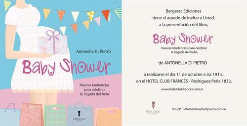 Gran BOOK SHOWER! presentación en sociedad del LIBRO BABY SHOWER - Mi primer Libro #babyshowerbook http://antonelladipietro.com.ar/blog/2012/09/babyshowerbook/