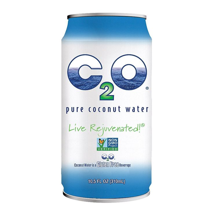 C2o Pure Coconut Water Pure Coconut Water - Case Of 24 - 10.5 Fl Oz