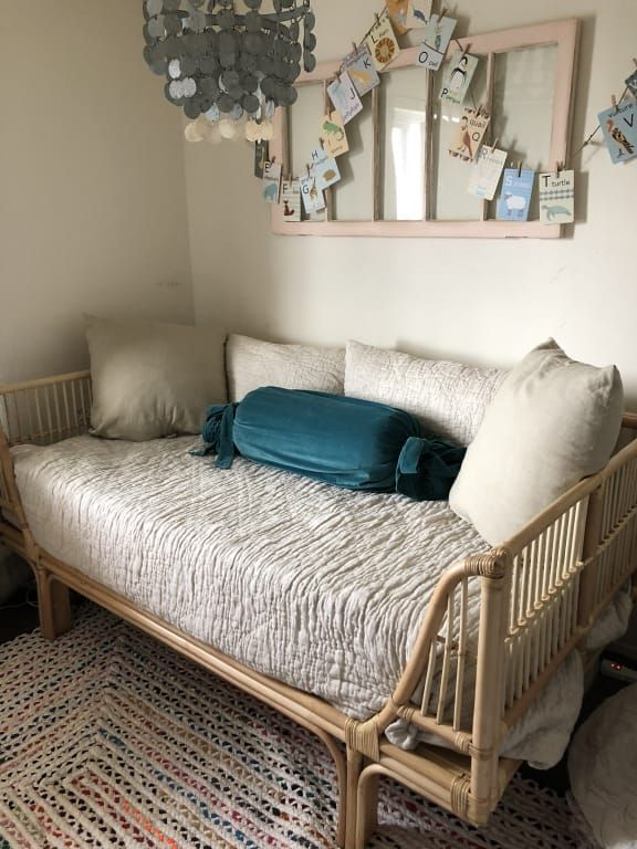 Savannah Metal Daybed Distressed Antique White Daybed Design