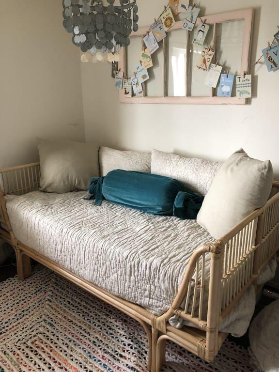 Honey Rattan Daybed World Market Sunroom Furniture