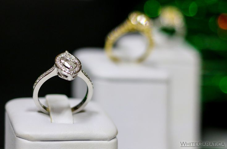 One of a kind diamonds for your one of a kind rings. Find them at WhiteCarat.ca