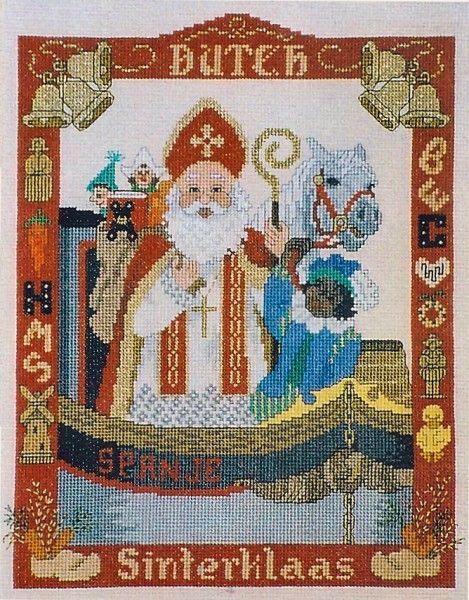 Sint Nicolaas - Dutch Sinterklaas patroon - De Spinnerij