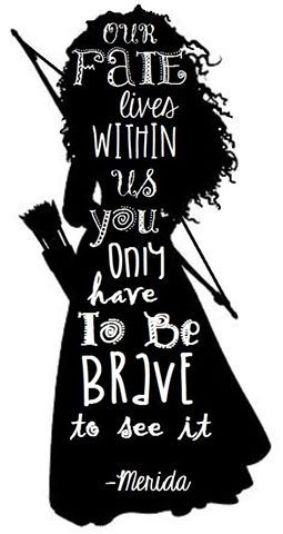This is so true! Love Merida!!! :)