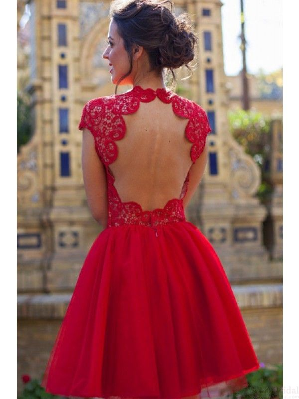 1000  ideas about Short Red Prom Dresses on Pinterest - Red ...