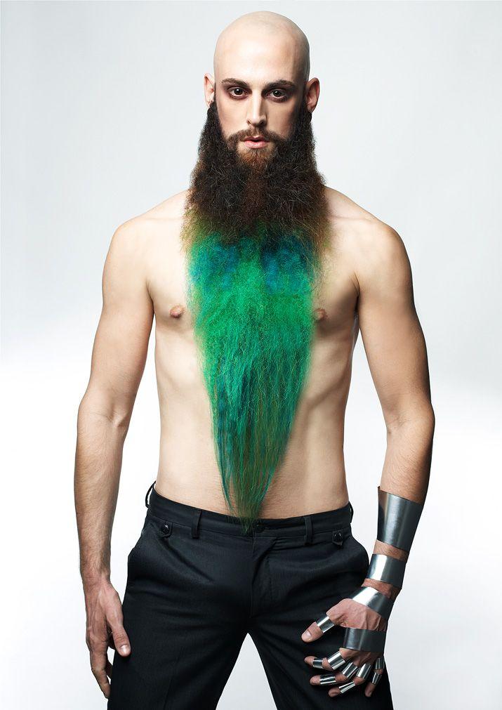 42 best multi-coloured B E A R D images on Pinterest | Beards, Long ...