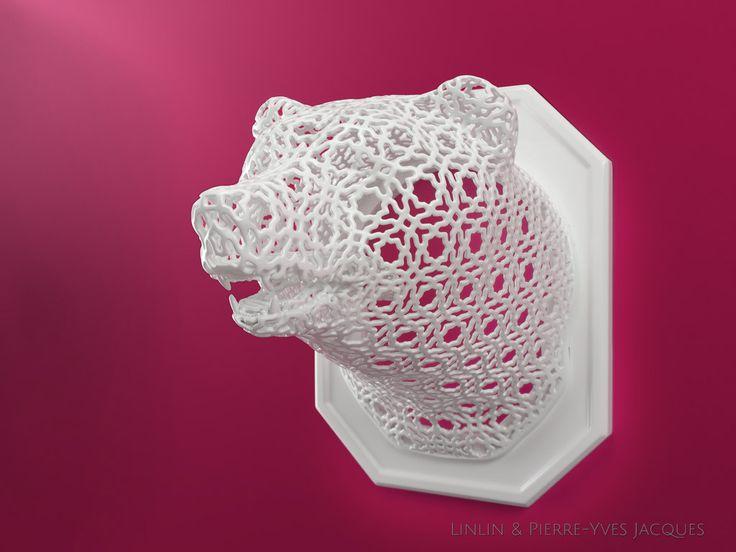 Les luminaires imprimés 3D de Linlin & Pierre-Yves Jacques
