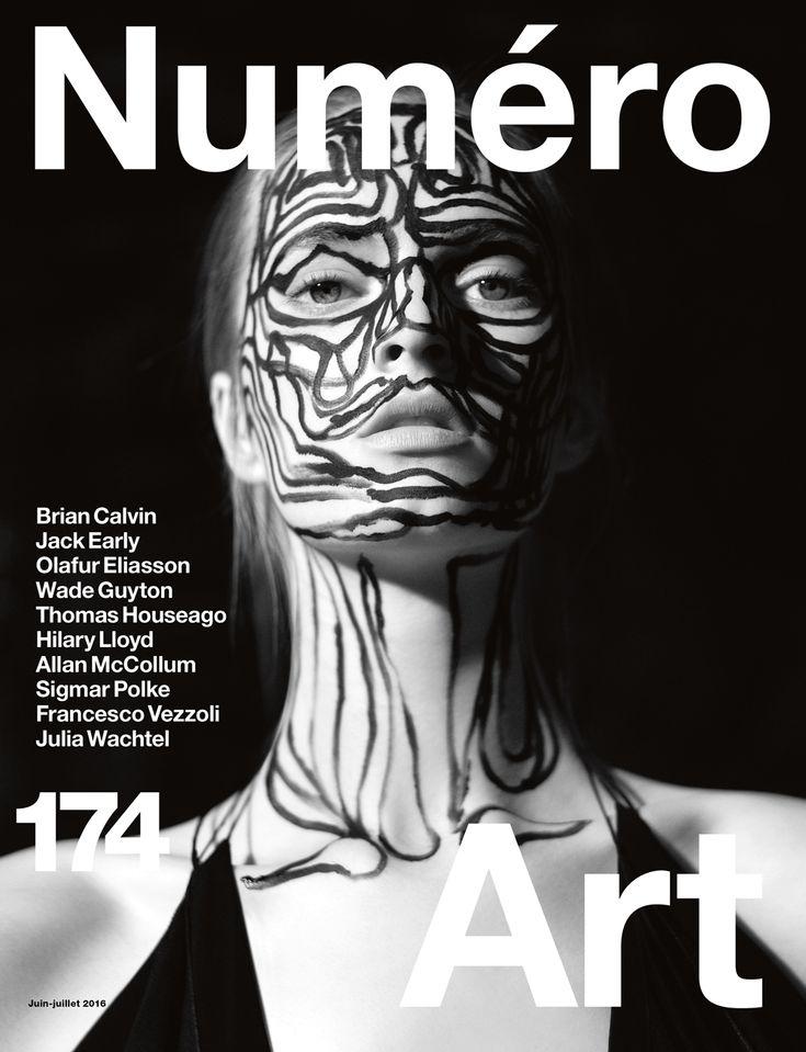 Cover Numéro Art : Thomas Houseago by Mathieu César.