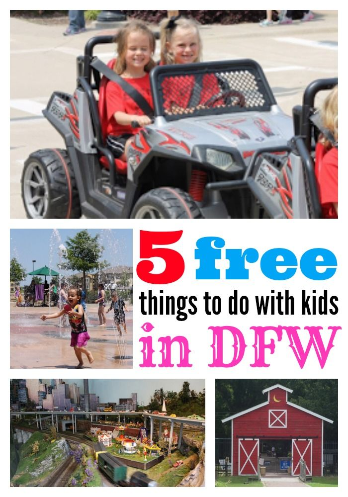 5 FREE things to do for families and kids in Dallas and Ft. Worth