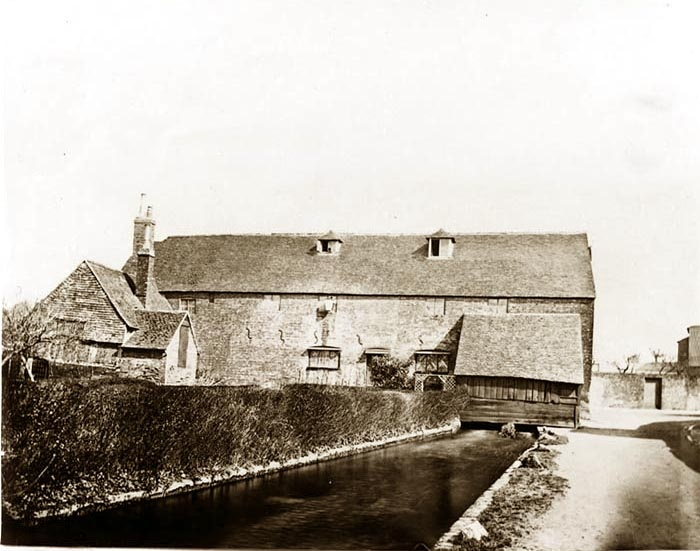 Image of Photograph of Durngate Mill, Durngate, Winchester 1870
