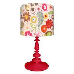 Pretty Flowers Lamp by Leslie Grainger