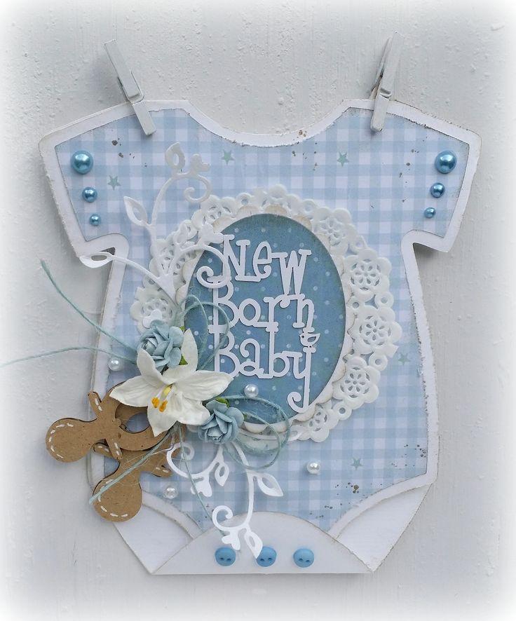 Скрапбукинг открытки для новорожденного мастер класс