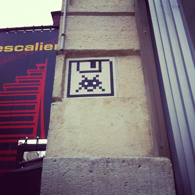 Space invader Paris