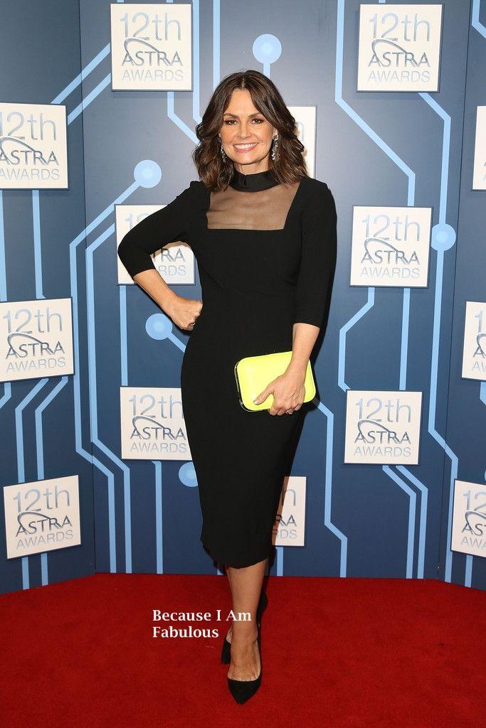 Fabulously Spotted: Lisa Wilkinson Wearing L'Wren Scott - 2014 ASTRA Awards - http://www.becauseiamfabulous.com/2014/03/lisa-wilkinson-wearing-lwren-scott-2014-astra-awards/