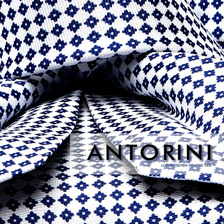 ANTORINI 7-Fold Silk Tie  https://www.antorini.com  ANTORINI Italian silk ties are a must for anyone who demands always the best. This eye-catching tie is hand-cut and hand-finished from premium silk that is folded seven times from 1m² of fine silk until there is no need for it to be lined. This kind of craftsmanship makes the tie more elegant and soft to touch than standard ties. Seven folded ties come from Naples, Italy made by master´s hands.