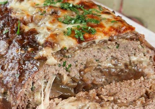 french onion soup meatloaf