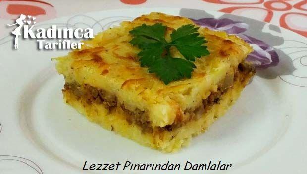 KIYMALI PATATES PÜRESİ TARİFİ http://kadincatarifler.com/kiymali-patates-puresi-tarifi