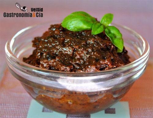 Tapenade de aceitunas y tomates secos | Gastronomía & Cía