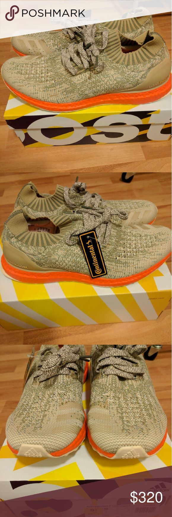NEW MEN ADIDAS ULTRA BOOST UNCAGED TRACE CARGO Newest colorway for adidas men ultra boost uncaged, sold out everywhere!  Men Size 9.5  Deadstock.  100% authentic.  Will be shipped with original box and protection box.  No trades.  Price is firm.  No returns for incorrect size, size is as described in description  Check out my account for more shoes and sizes!  Tags:Adidas, Jordan, Nike, retro, boost, Yeezy, ultra boost, prime knit, supreme, make up, contacts Adidas Shoes