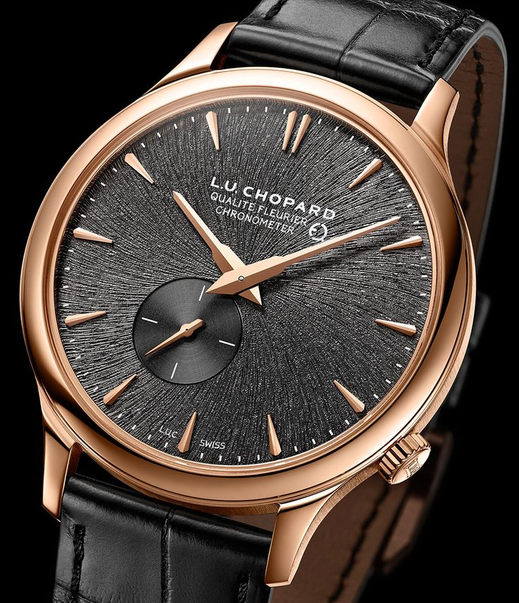 New release from Chopard is also this L.U.C XPS Twist QF Fairmined. With a dial inspired by the raw composition of gold nuggets extracted from mines. Fairmined Project is an initiative in partnership with the South American NGO Alliance for Responsible Mining (ARM). Find out more...