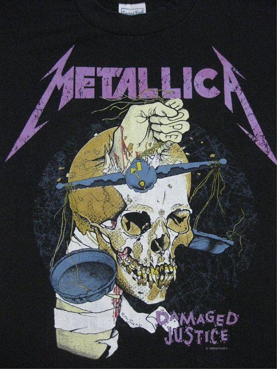 Metallica 88 Tour...I GOT RID OF THIS CONCER T-SHIRT!! DUMB, DUMB, DUMB!