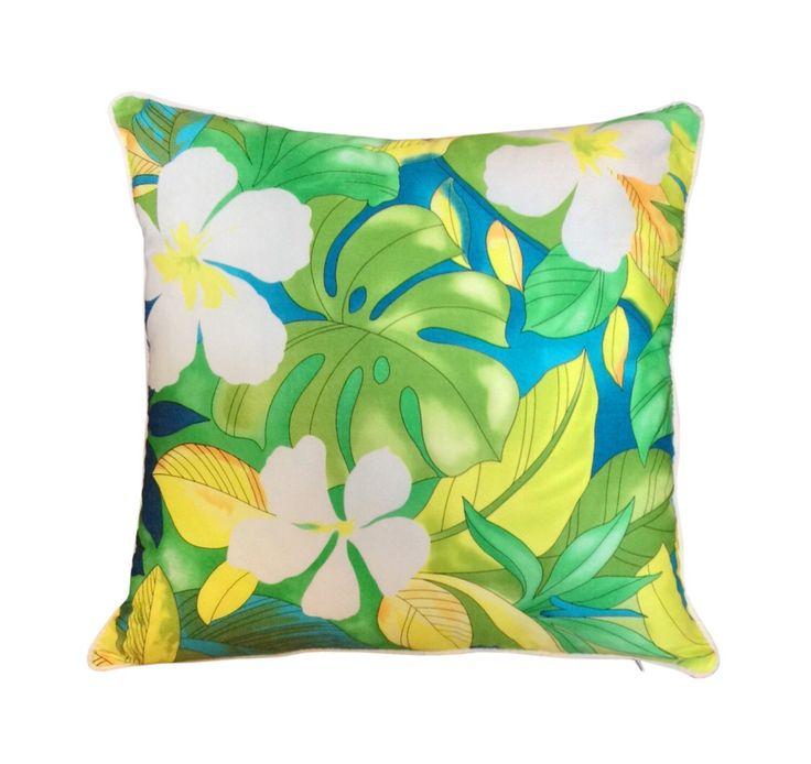 Cushion Aloha Green