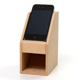 iPhone用 木製スピーカー アイメガホンII