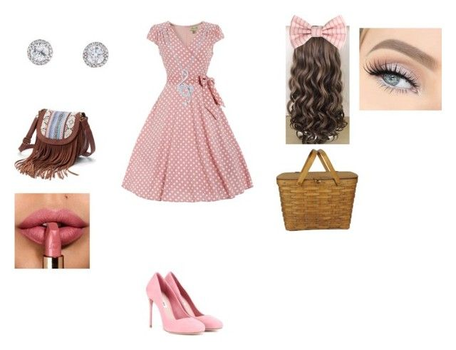 """""""Picnic date outfit"""" by soni1234 ❤ liked on Polyvore featuring Miu Miu, Mudd and BERRICLE"""