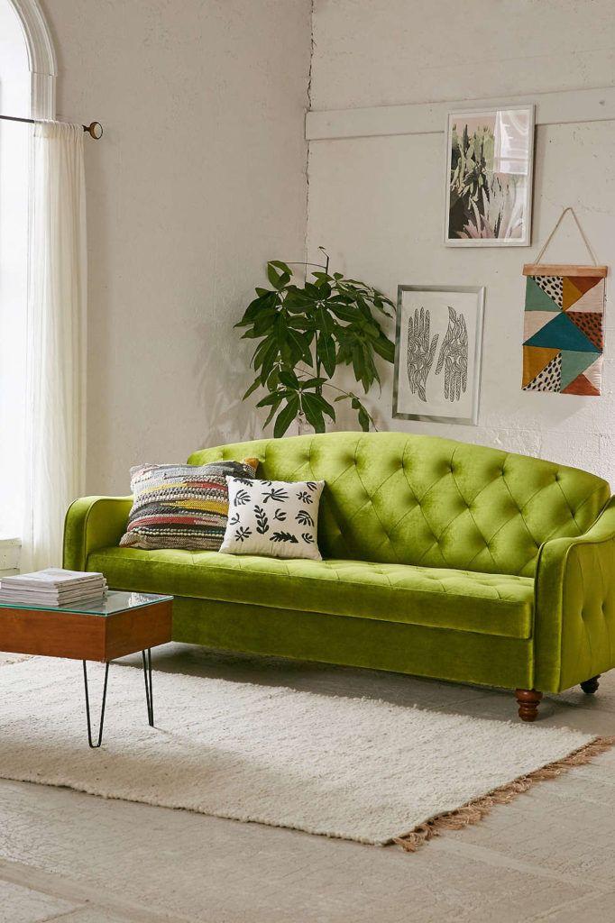 Die besten 25+ Velvet sofa bed Ideen auf Pinterest Rosafarbenes - wohnzimmer italienisches design