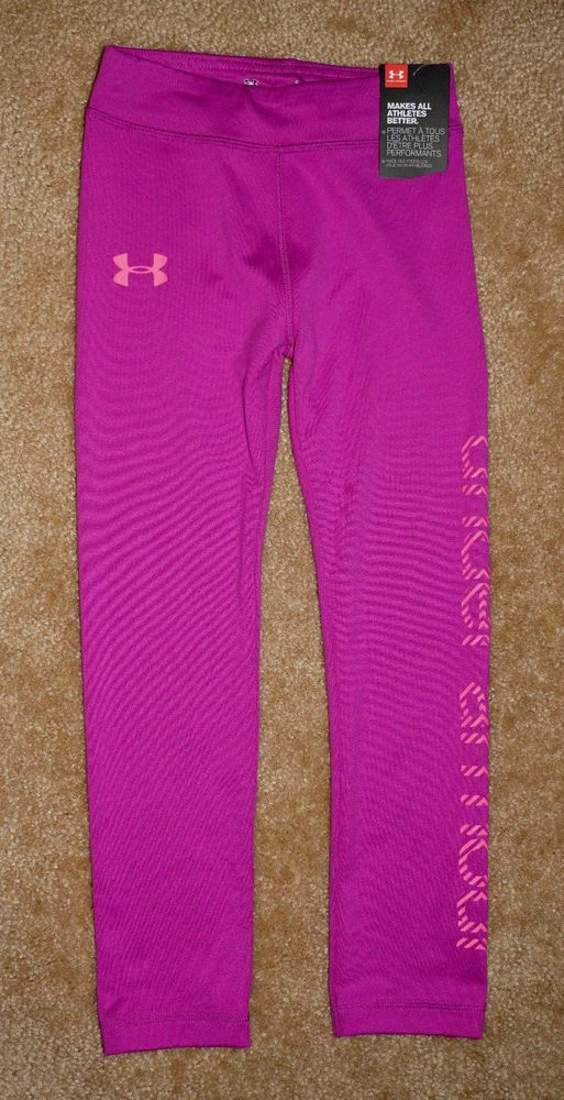 1c0c30d698 NWT ~ Under Armour ~ Girls ~ Strobe Leggings Pants ~ Under Armour ...