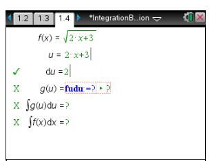 Calculus time! In this Integration By Substitution activity, students explore methods for computing integrals of functions that are not in one of the standard forms.