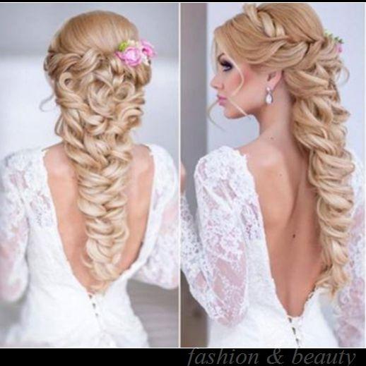 wedding hair styles for long hair