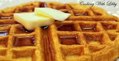 Spiced Pumpkin Waffles | Waffles | Pinterest | Pumpkin Waffles ...