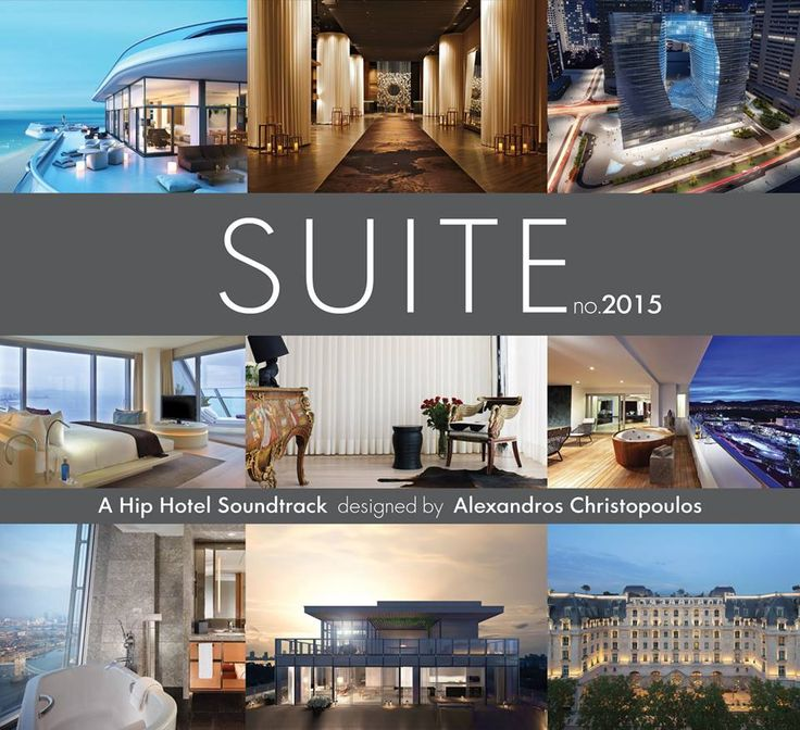 ★  SUITE no.2015 ★  CD Series compiled by Alexandros Christopoulos / Designed by blissprojects.com
