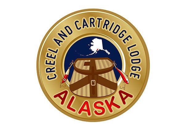 Alaska Fishing Lodge Logo
