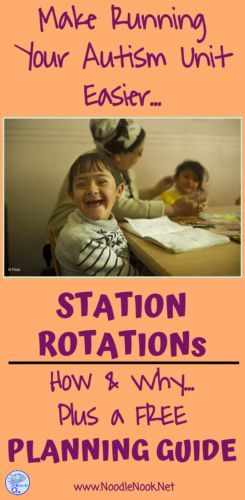 Station Rotation in Autism Units is a must... here's how!