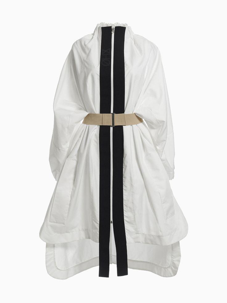 White Coat With Black Stripes • HANA ZARUBOVA
