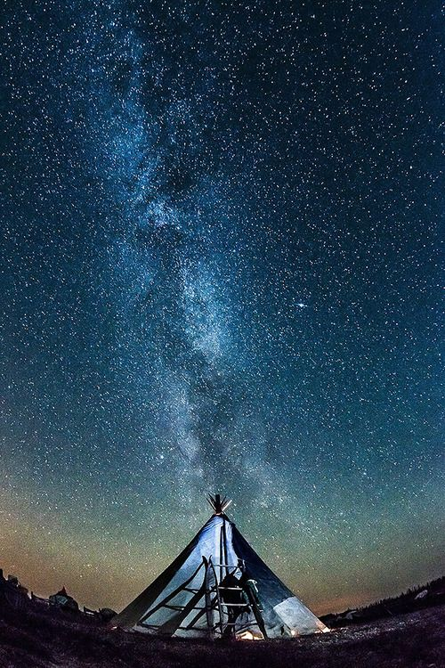 Milky Way, Russian Federation photo via ahoya .. Editor : Danil Husainov ben-sau-pin@mail.ru